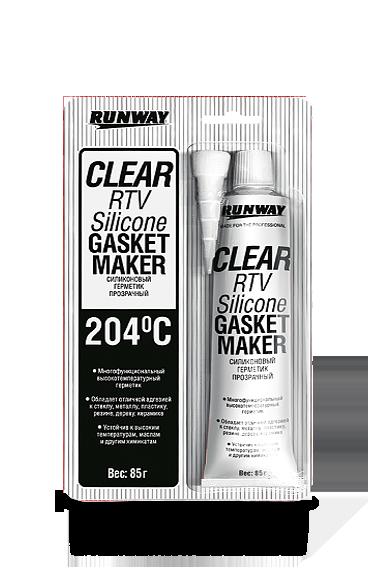 Герметик многофункциональный RTV Silicone Gasket Marker (RUNWAY)