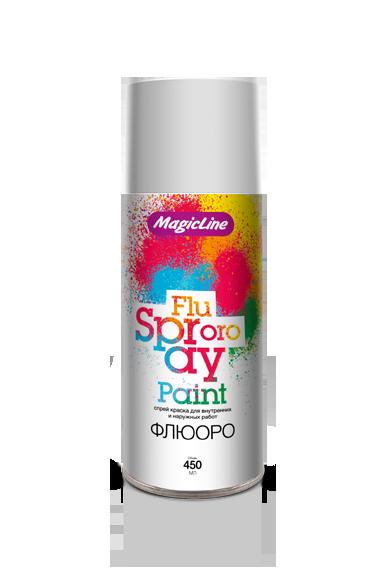 Краска белая флюоресцентная (265г)